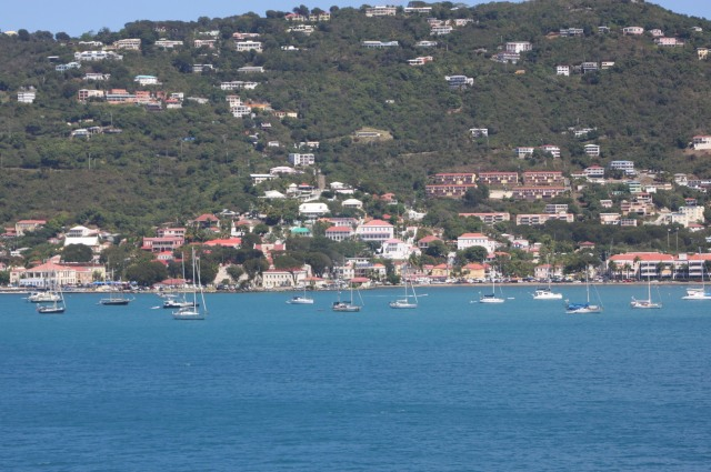 Approaching St. Thomas