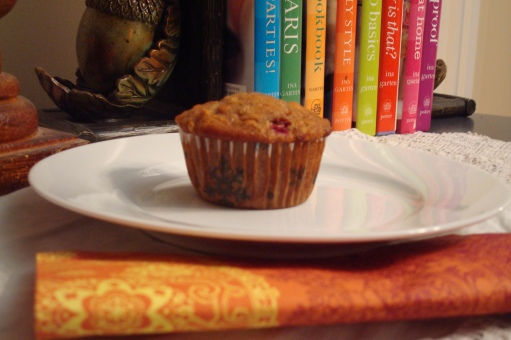 Cranberry Fruitcake Muffins--don't let the title turn you off!